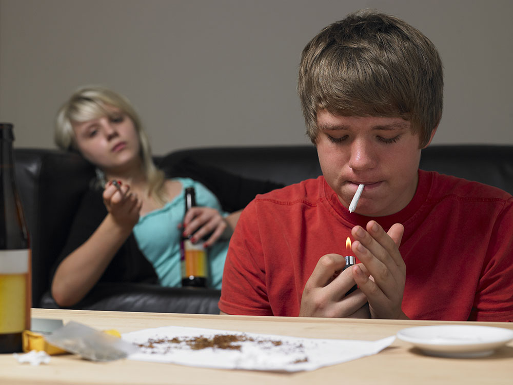 abusing marijuana teens start Why